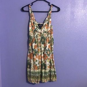 Cute flower patterned dress